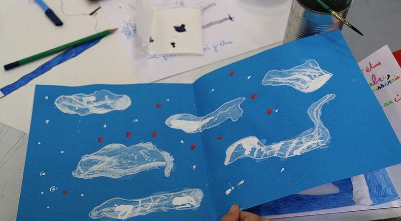 Expositions de marion janin illustratrice for Tarif piscine riom